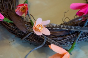 Crepe-paper-flower-wreath