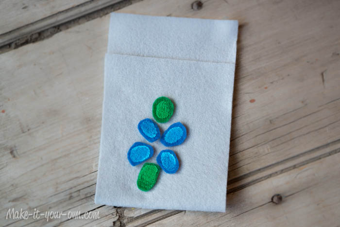 Seed Pocket Packet, Fingerprint, Mother's Day