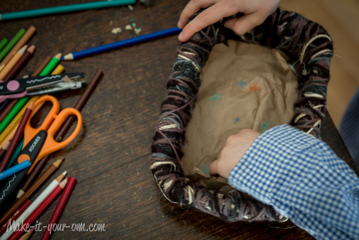 Making a Bird's Nest Stage Basket 2