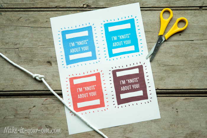 Gift Wrap Idea: Using Rope & Twine- Labels