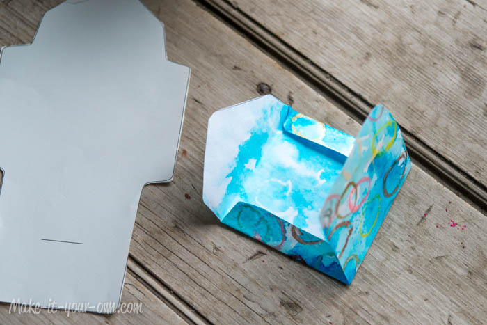 Make Your Own Gift Card Envelope: Fold