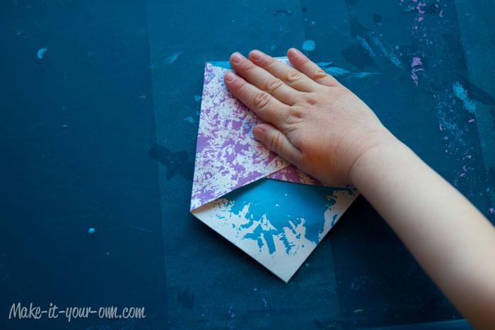 Baby Gift Topper: Folding
