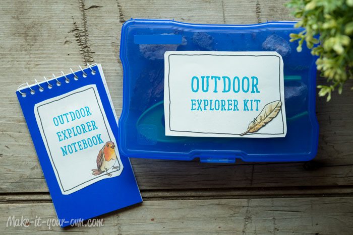 Outdoor Explorer Kit: Application of Labels