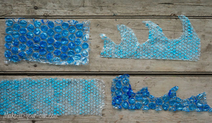 Bubble Wrap Options: Make Waves or Strips make-it-your-own.com