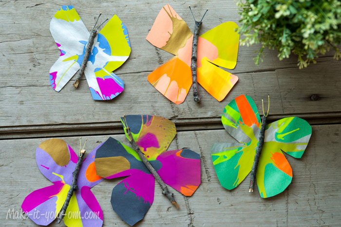 Butterflies from make-it-your-own.com
