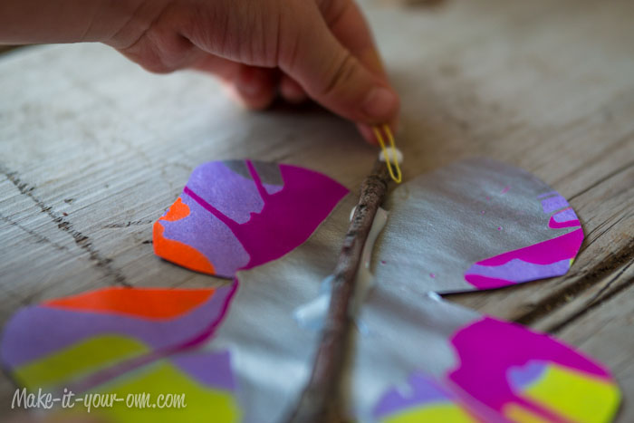 Butterflies: Apply Anntenae from make-it-your-own.com