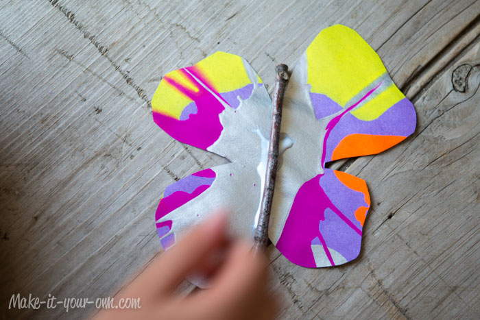 Butterflies: Apply Stick from make-it-your-own.com