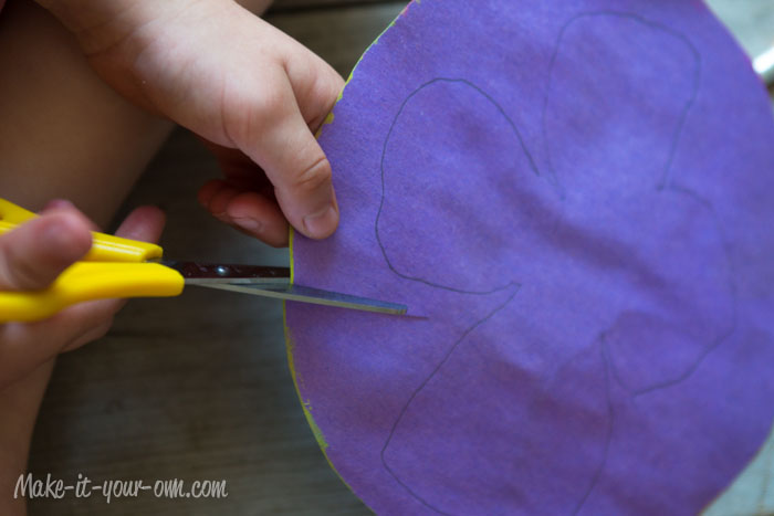 Butterflies: Cut out wings from make-it-your-own.com