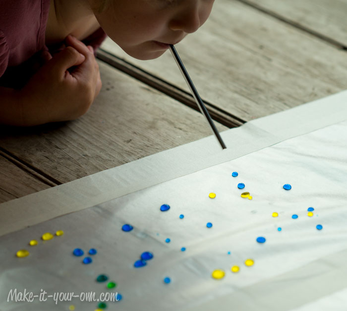 Colour Exploration: Mixing Droplets from make-it-your-own.com