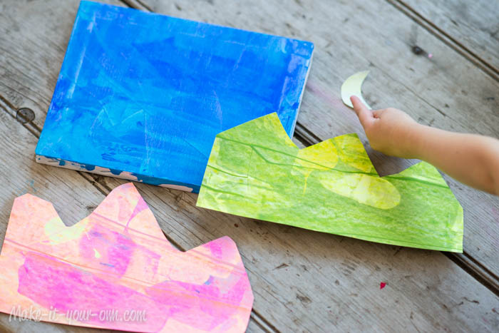Landscape: Cut-outs from make-it-your-own.com
