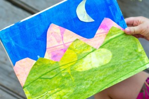 Landscape Project from make-it-your-own.com (Kid's art and craft projects)