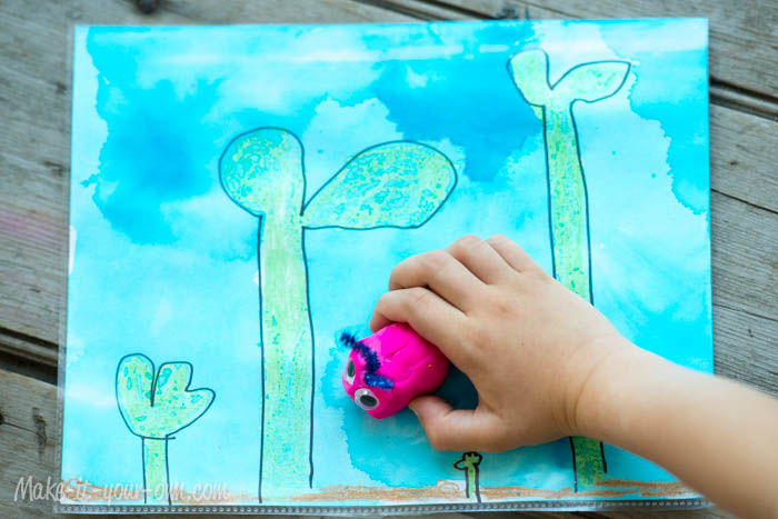 Design Your Own Playdough Mat from make-it-your-own.com