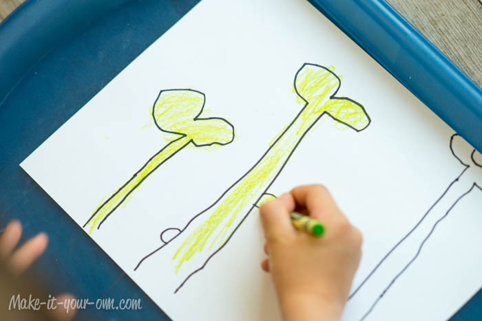 Design Your Own Playdough Mat: Colouring from make-it-your-own.com