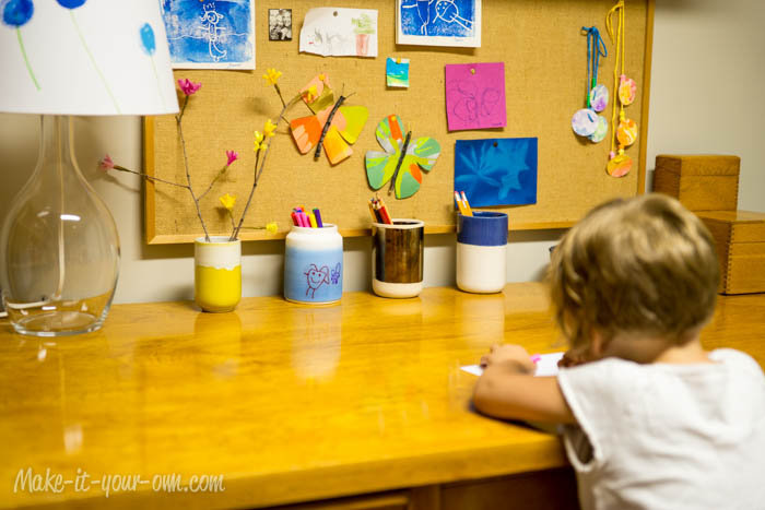 Back to School: Getting Organized with make-it-your-own.com (Art, crafts & activities for kids)
