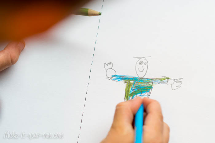 Back to School Photo & Drawing Idea from make-it-your-own.com (Art, crafts & Activities for Kids)