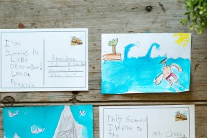 Road Trip Idea: Send a Postcard to Yourself from make-it-your-own.com
