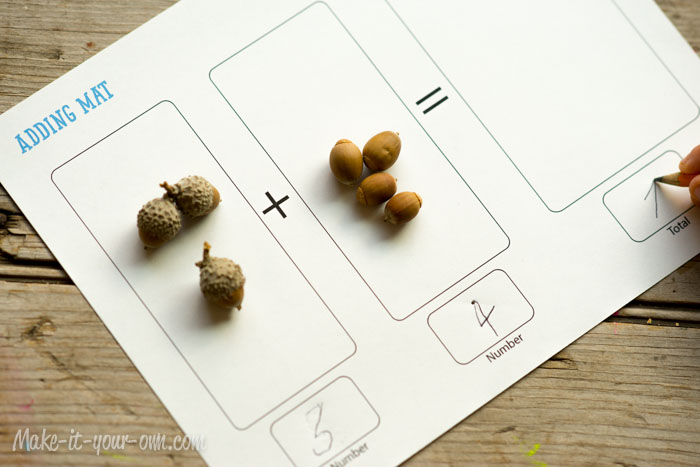 Fall Fun: Math with Nature from make-it-your-own.com (Art, crafts & activities)