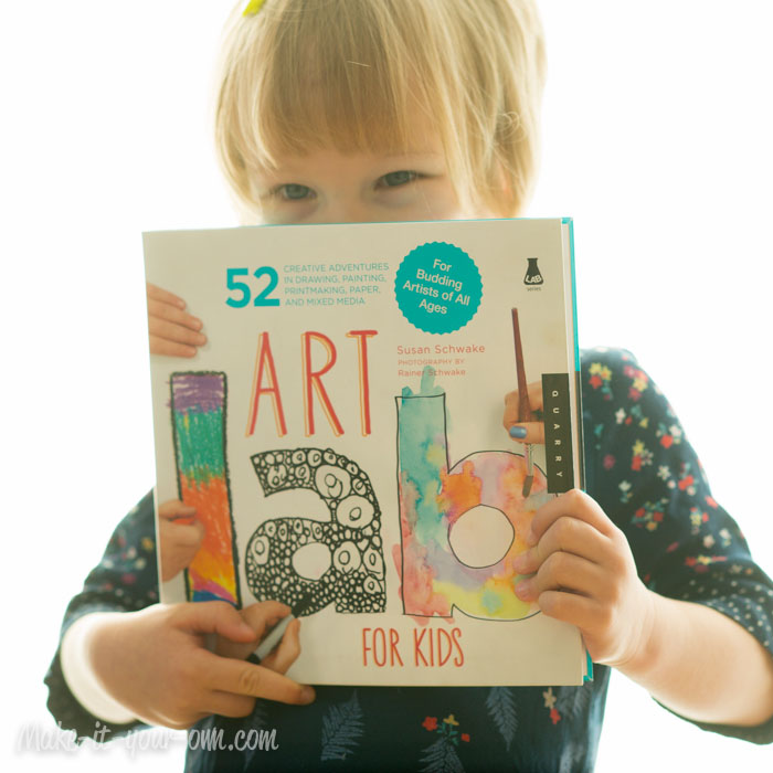 """Art Lab for Kids"" Give Away at make-it-your-own.com"