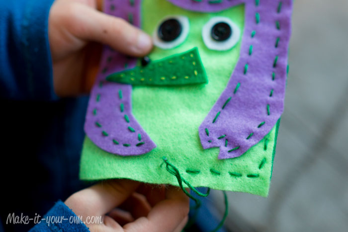 Halloween Gift Card Holder from make-it-your-own.com (Arts, crafts & activities for kids)