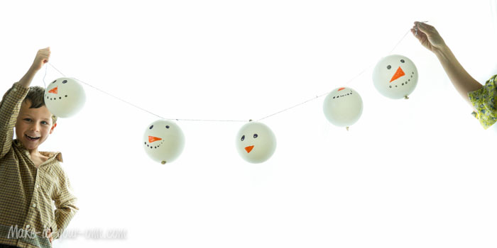 Snow Person Garland from make-it-your-own.com (Art, crafts & activities for kids)