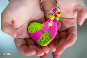 Polymer Clay Hearts from make-it-your-own.com (Crafts & Activities for Kids)