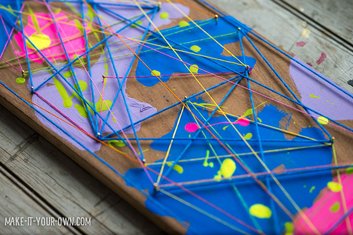 Pre- school String Art from make-it-your -own.com (Crafts & activities for kids)