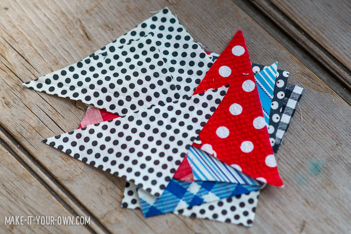 Patchwork Heart Wall Hanging from make-it-your-own.com (Crafts & activities for kids)