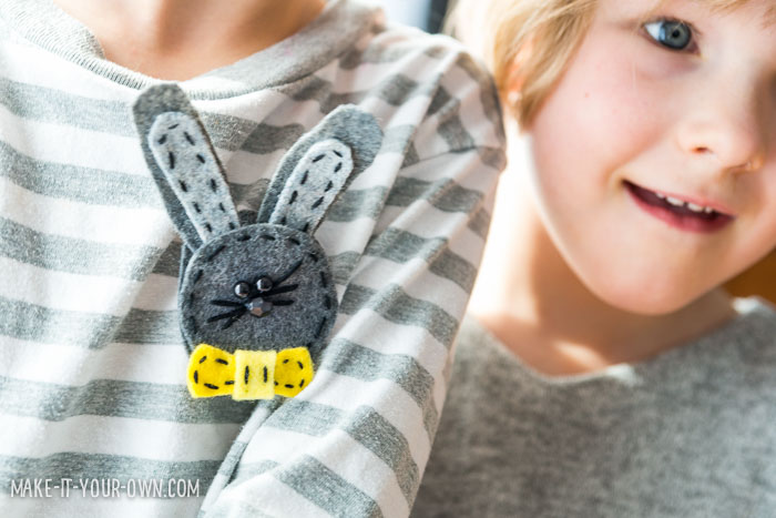 Bunny Headband or Pin (Perfect for Spring or Easter!)