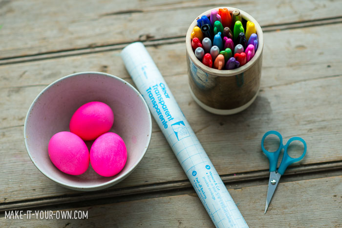 DIY Easter Egg Stickers