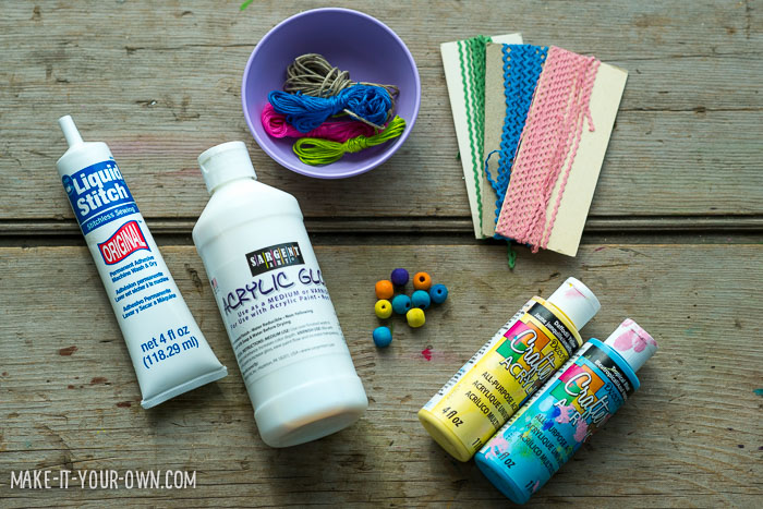 Clay Easter Egg Gift Tags
