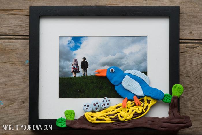 Celebrating Spring: Kid-Made Picture Frame