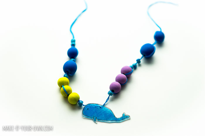 Shrink Art Animal Necklaces with make-it-your-own.com (Crafts & activities for kids)