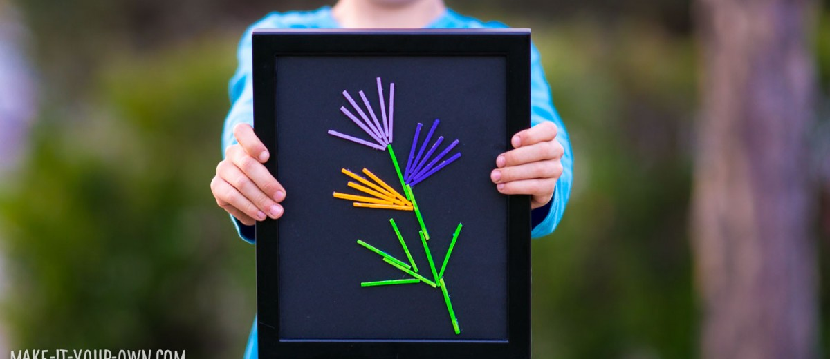 Marvelous Matchsticks from make-it-your-own.com (Crafts & activities for kids)