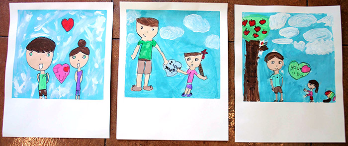 Reader Polaroid Project from make-it-your-own.com (Crafts & activities for kids)