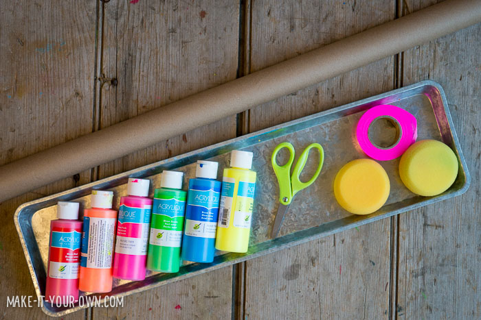Flagging Tape Party Fun with make-it-your-own.com (Crafts & activities for kids)