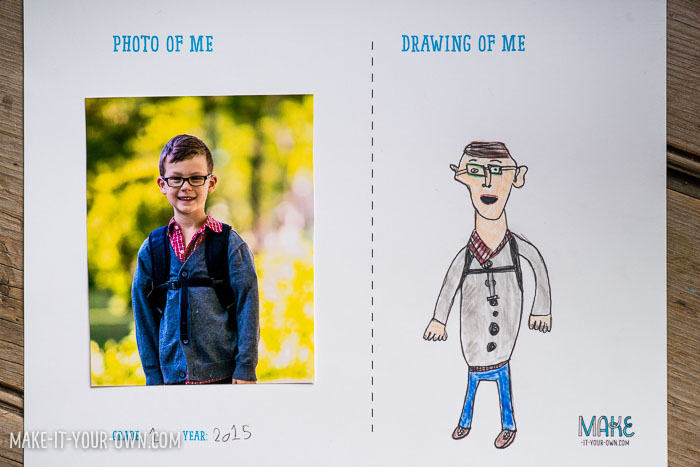 nd of the Year Photo and Portrait Idea with make-it-your-own.com (Crafts & Activities for Kids)