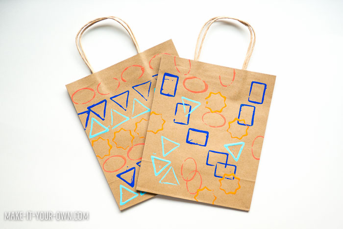 Shape Painting with Make-it-your-own.com (Crafts & activities for kids)