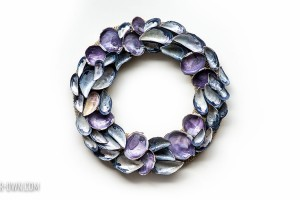 Seashell Wreath with make-it-your-own.com (Crafts & activities for kids!)