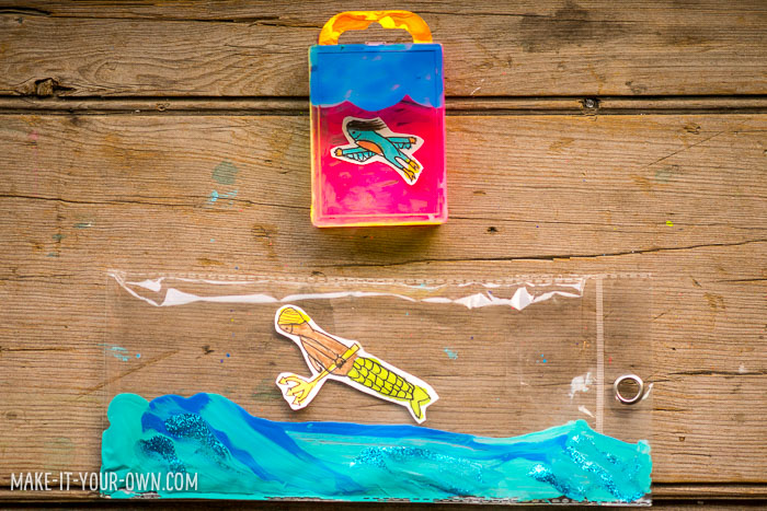 Painting on Plastic with make-it-your-own.com (Crafts & activities for kids)