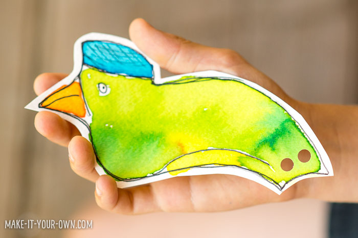 Imaginary Birds with make-it-your-own.com (Crafts & activities for kids!)