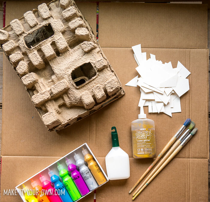 Cardboard Collaborations with make-it-your-own.com (Crafts & activities for kids!)