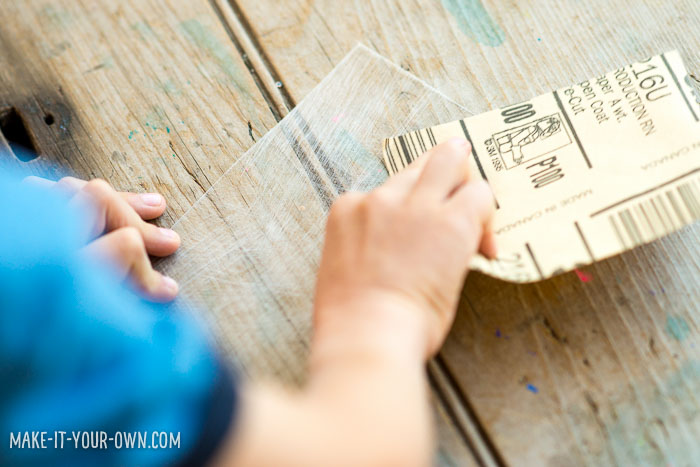 Reader Idea:  Personalized Bag Tags for Back-to-School Using Shrink Art with make-it-your-own.com (Crafts & Activities for Kids!)