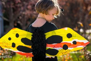 Paper Bag Butterfly with make-it-your-own.com (Crafts & activities for kids!)