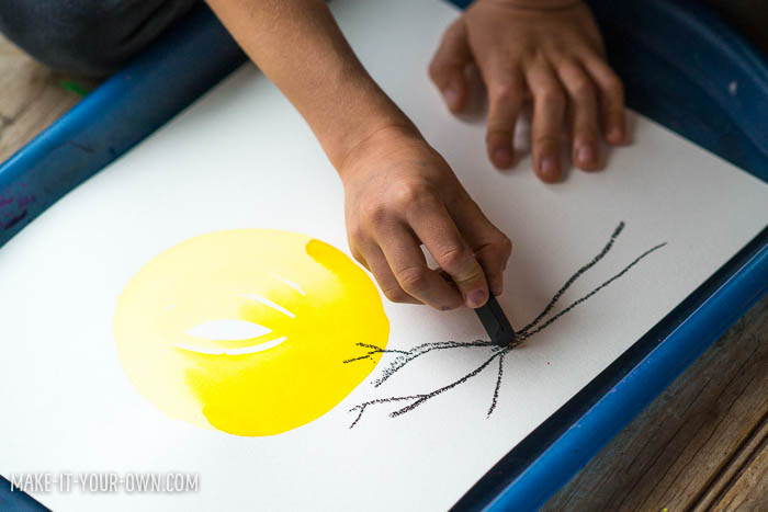 Drawing at Dusk with make-it-your-own.com (Crafts & activities for kids)