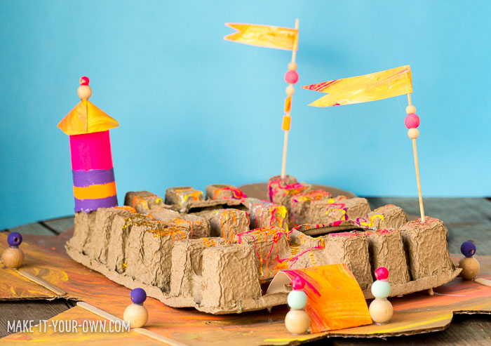 Cardboard Collaborations with make-it-your-own.com (Crafts & activities for kids)