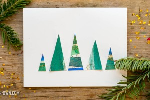 Tree Cards with make-it-your-own.com (Creative activities for kids!)