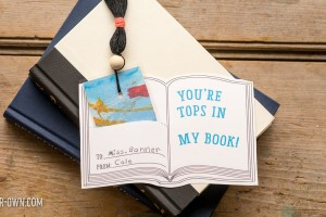 Bookmark Valentine Card with make-it-your-own.com (Creative activities for kids!)