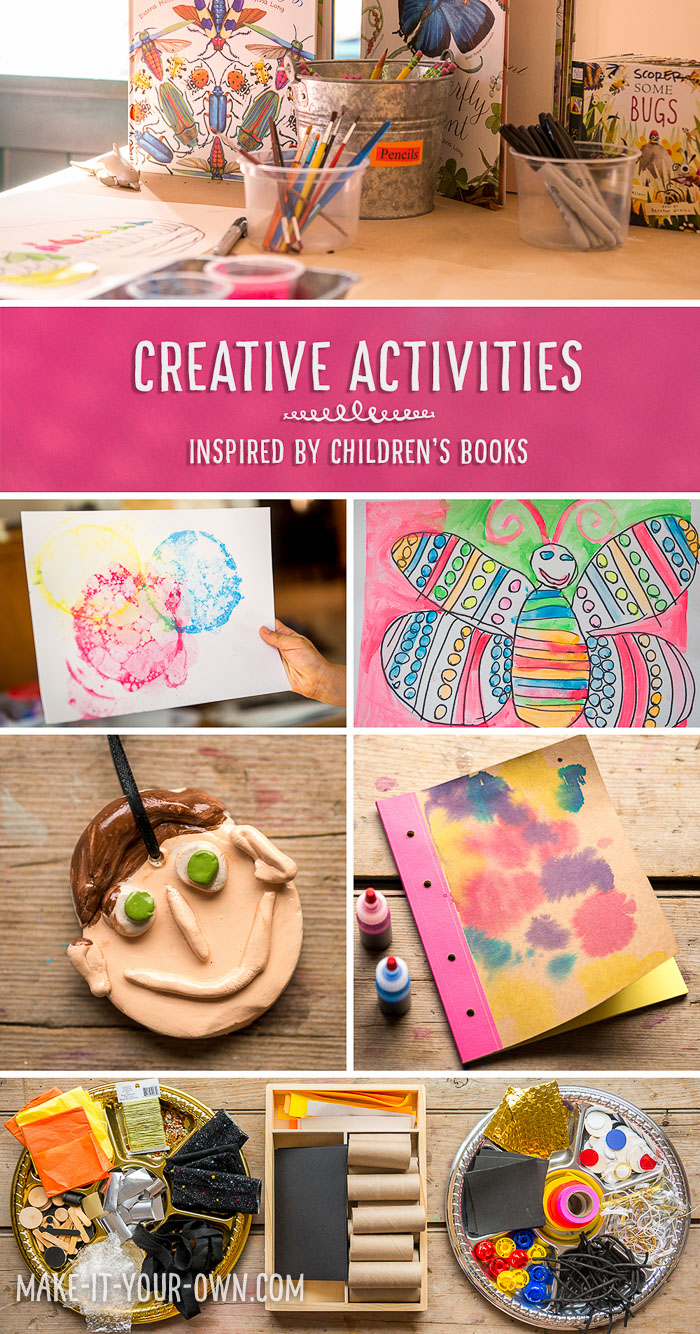 Creative Activities Inspired By Children's Books