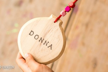 Make a simple and durable name tag- perfect for art groups, camp, back-to-school etc.