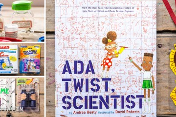 Create a science themed gift to accompany the book: ADA TWIST, SCIENTIST
